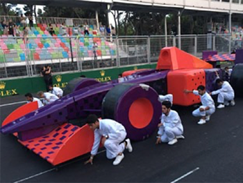 F1 Baku Opening Ceremony (Agency: Filmmaster Events)