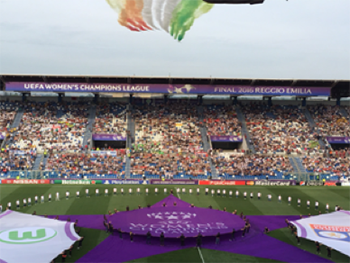 Opening Ceremony Women UEFA Champions League Final (Agency: Filmmaster Events)